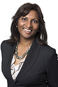 Headshot of Indira Naidoo-Harris.