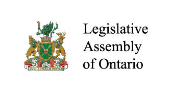 The Legislative Assembly of Ontario coat of arms.