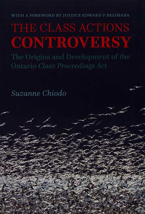 The Class Actions Controversy book cover