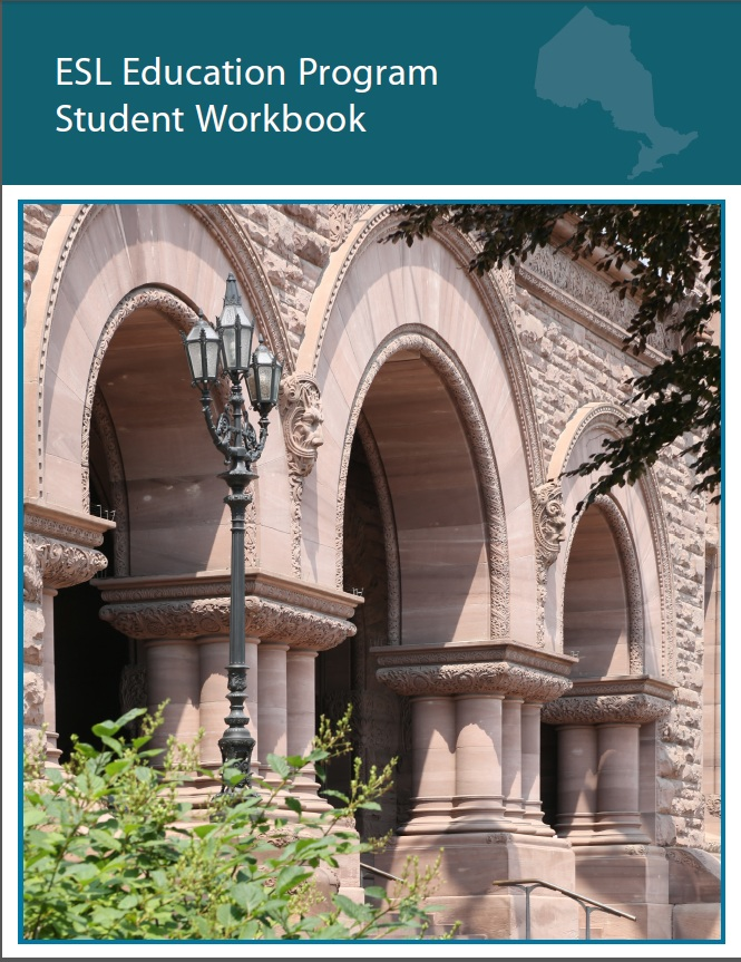 Picture of front cover of ESL Education Program Student Workbook PDF