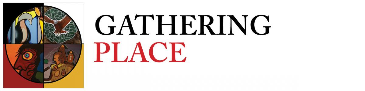 Gathering Place exhibit header graphic