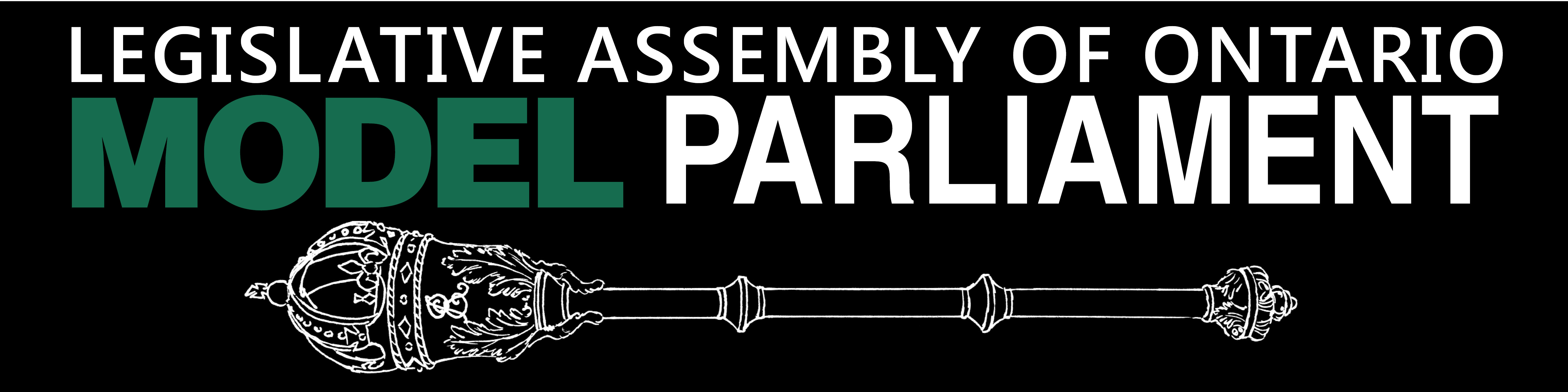 Legislative Assembly of Ontario Model Parliament Graphic