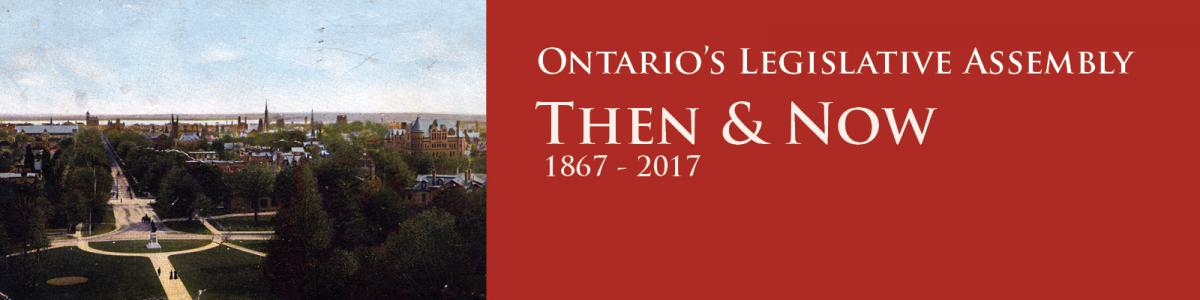 Then and Now 1867 to 2017 banner graphic