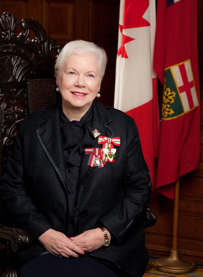The Honourable Elizabeth Dowdeswell, Lieutenant Governor of Ontario