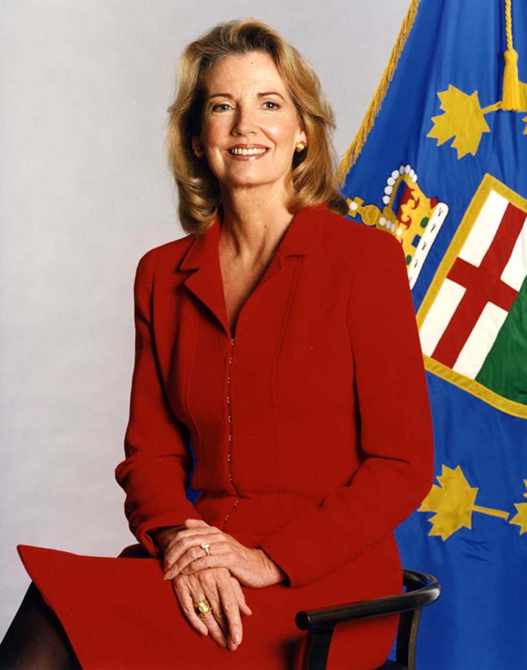Picture of the Honourable Hilary Weston, Lieutenant Governor from 1997 to 2002
