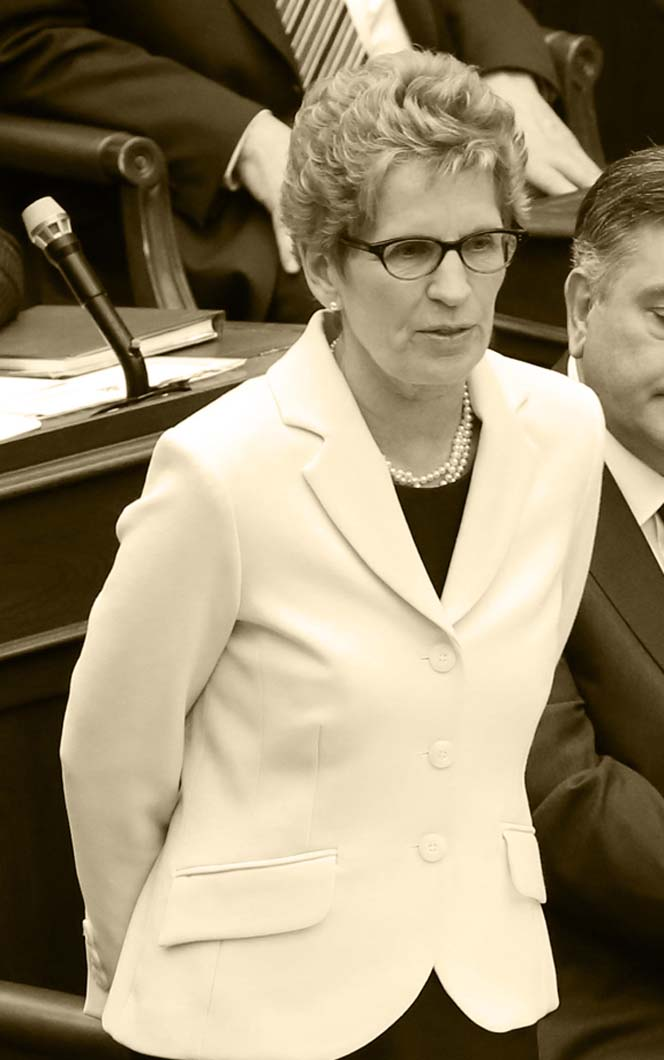 Picture of the Honourable Kathleen O. Wynne, MPP from 2003 to present