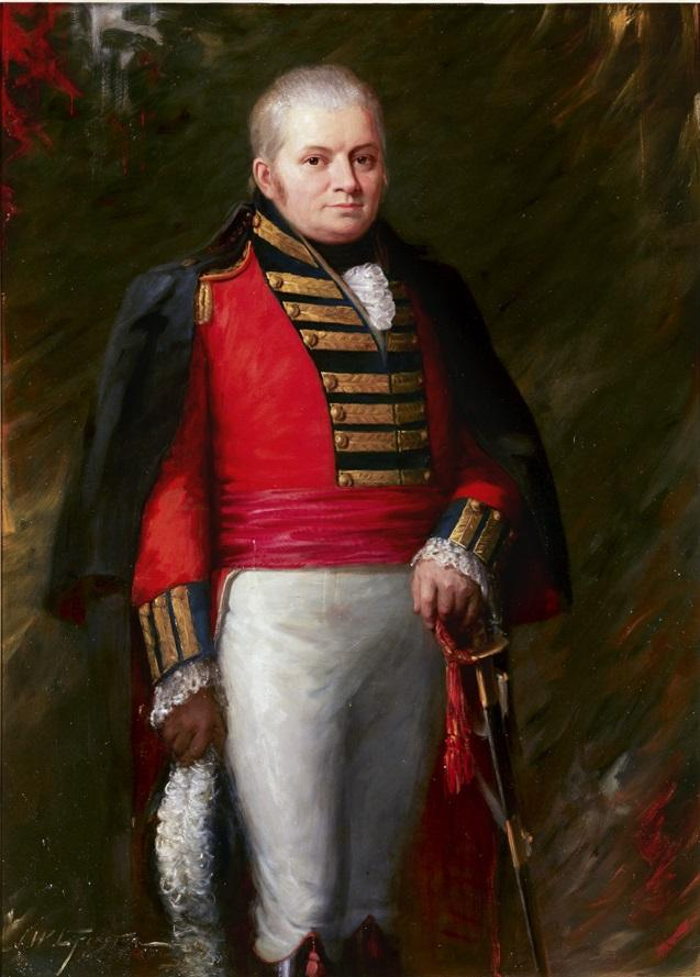 Portrait of John Graves Simcoe, First Lieutenant Governor of Upper Canada