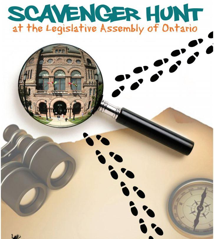 Cover of Scavenger Hunt activity booklet