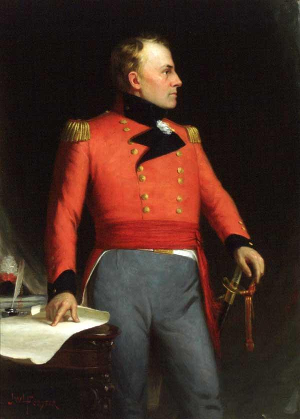 Portrait of Major-General Sir Isaac Brock