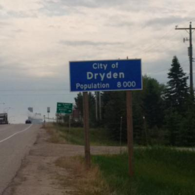 Image montrant une indication pour Dryden, Ontario