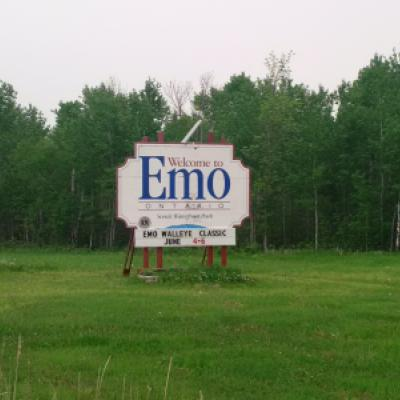 Image montrant une indication pour Emo, Ontario