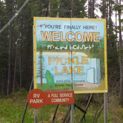 Image d'une indication pour Pickle Lake, Ontario
