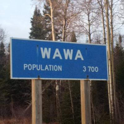 Image montrant une indication pour Wawa, Ontario