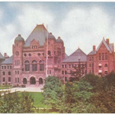 View of the Legislative Building c. 1900