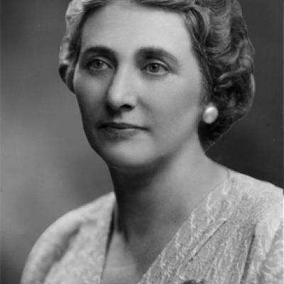 Picture of Rae Luckock, MPP from 1943-45