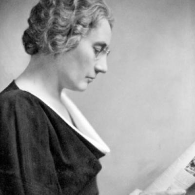 Photo d'Agnes Macphail par Yousuf Karsh, Bibliothèque et Archives Canada