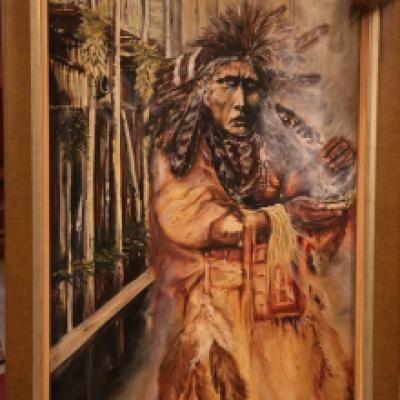 Image of Clifford's Closet Medicine Man by Russell Raven