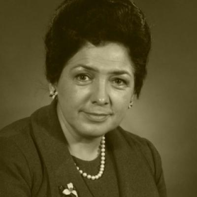 Picture of Dr. Bette M. Stephenson, MPP from 1975 to 1987
