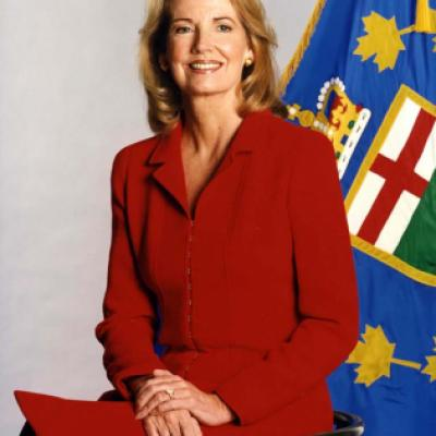 Photo de l'honorable Hilary Weston, lieutenante-gouverneure de 1997 à 2002
