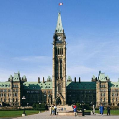 Parliamentary Buildings in Ottawa