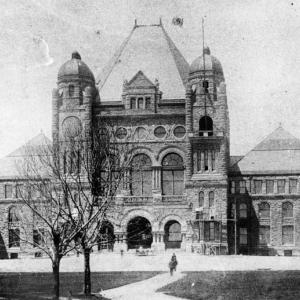 Then & Now at Queen's Park Exhibit Images image