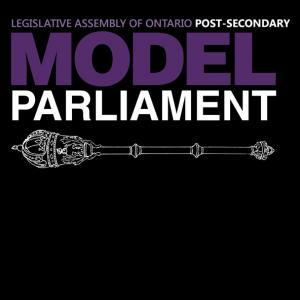 Post Secondary Model Parliament Application image
