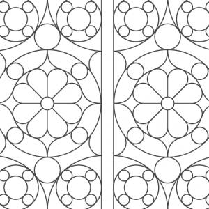 Motifs des portes de la Chambre image