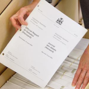 Processus législatif image