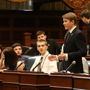 High School Model Parliament image