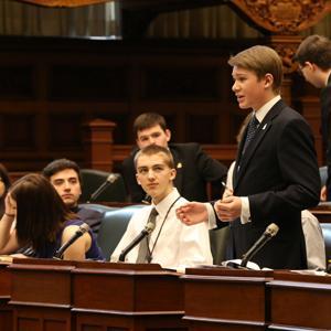 Parlement simulé image