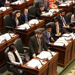 Parlement simulé (postsecondaire) image