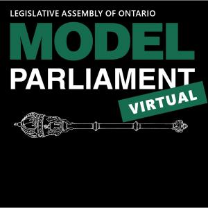 Virtual Model Parliament for High School Students image